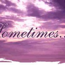 sometimes sometime