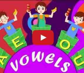 Les voyelles pour les enfants en anglais – Vidéo «Apples and bananas» song