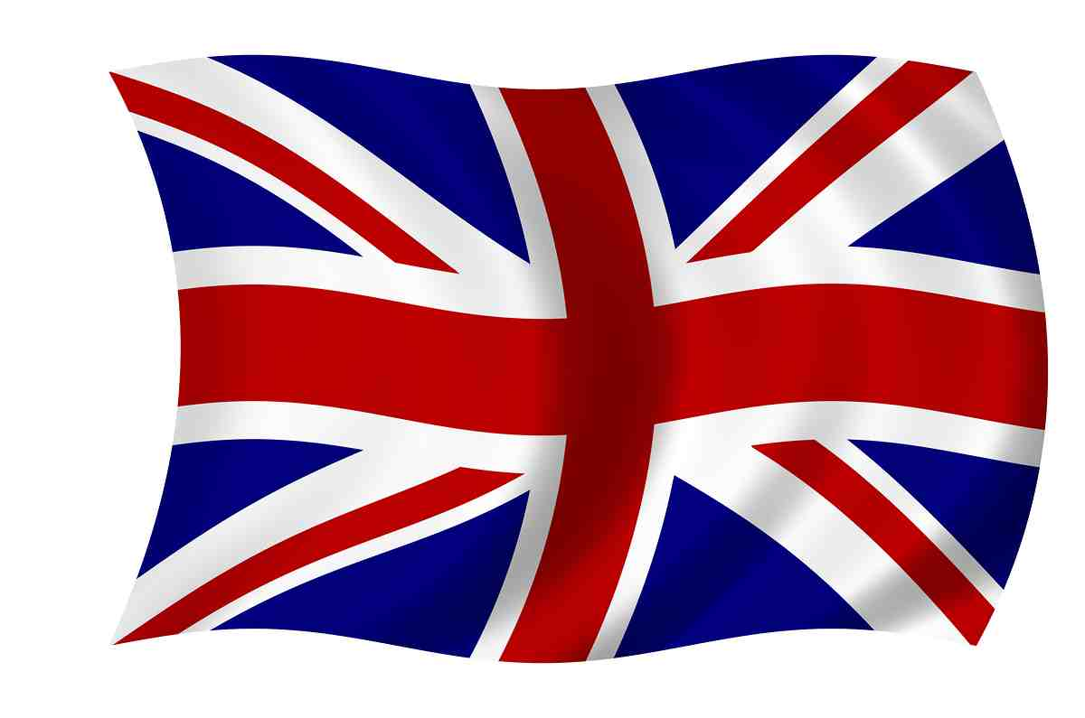 drapeau apprendre anglais