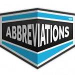 abreviation acronyms sms anglais
