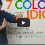 expression anglaise idiomatique imagee couleur