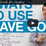 have got anglais