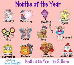 Les 12 mois de l'année en anglais – Cours d'anglais de base