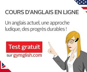 Cours d'anglais en ligne avec Gymglish – Présentation en vidéo