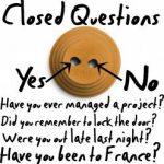 Poser une question fermée en anglais