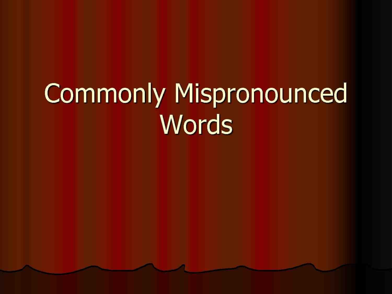 mots-mal-prononcés-anglais