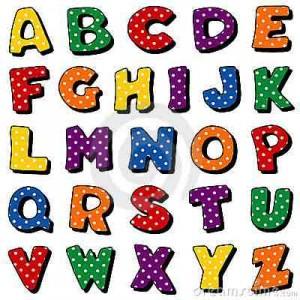 alphabet pronciation anglais