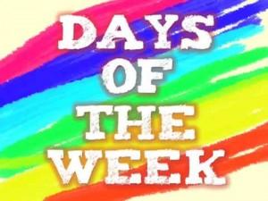 Les 7 jours de la semaine en anglais – Cours d'anglais de base